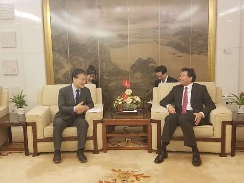 장하성 주중대사, 中외교부 부부장 만나 한반도 문제 논의