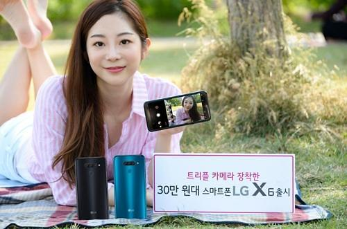 LG推出实惠型智能手机 X6将于14日面市
