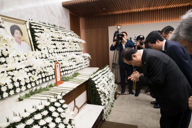 [AJU VIDEO] 金大中遗孀李姬镐逝世 韩国各界吊唁