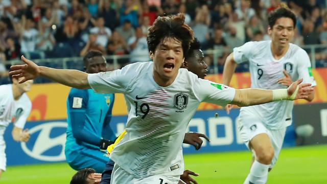 [U20 월드컵] 정정용호 새 역사…한국, 에콰도르 꺾고 사상 첫 결승행