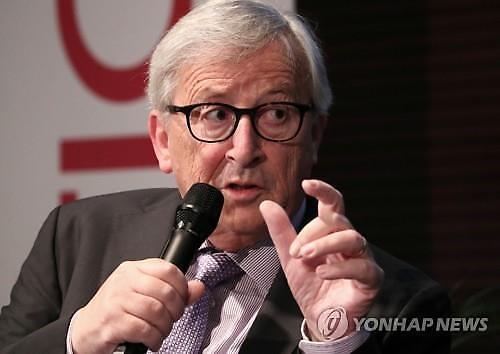융커 EU 집행위원장 브렉시트 합의문 재협상 없다
