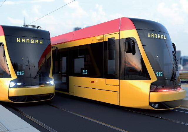 현대로템, 폴란드 철도시장 첫 진출… 3358억 규모 트램 수출
