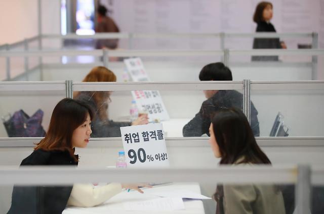 韩5月新增就业人口近26万 114.5万人失业