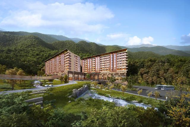 제천 리솜포레스트 호텔동 2021년 상반기 오픈