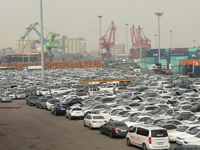 中 5월 자동차판매 16.4% 하락…11개월 연속 떨어져