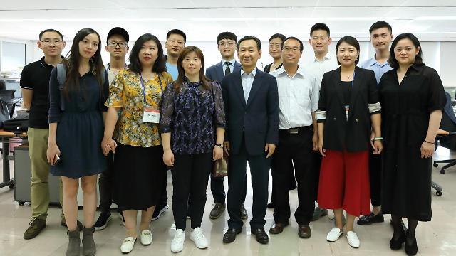 国际交流振兴协会率访问团到访我社