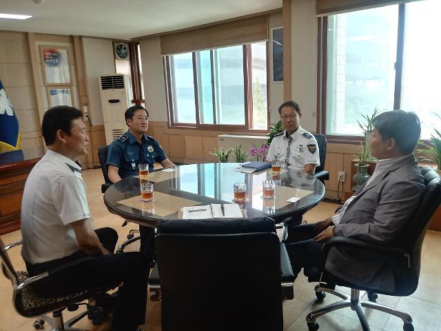 한국교통안전공단 인천본부, 인천남동경찰서와 교통사고예방 간담회 개최