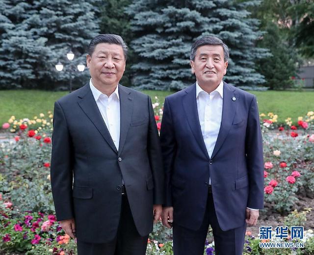 """시진핑, 키르기스 대통령에 """"내 통치이념 공유할 것"""""""