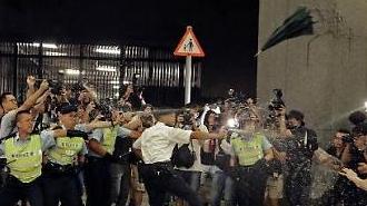 홍콩 시위 부상자만 70여명… 美·英도 우려