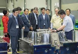 .【现场报道】100分钟洗衣机生产完成 中小企业参观只能工厂研学.
