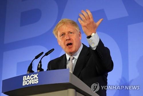 英보수당 대표 1차 경선서 보리스 존슨이 압도적 1위