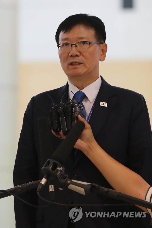 서호 개성 남북연락사무소 신임 소장, 사무소로 첫 출근