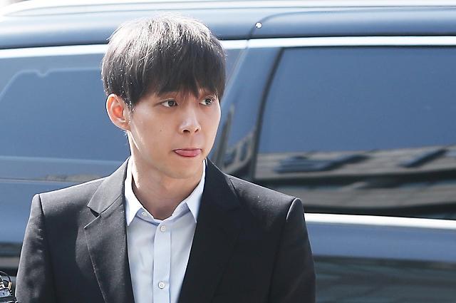 Yoochun sheds tears as prosecutors demand jail term for drug use