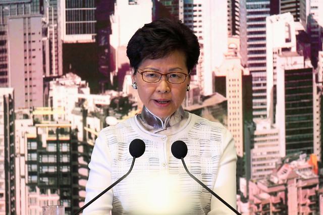홍콩 100만명 시위에 백기… 홍콩정부 인도법 개정 잠정 중단(종합)