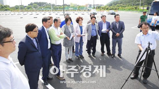 안산시의회, 제255회 정례회 행감관련 현장활동 펼쳐