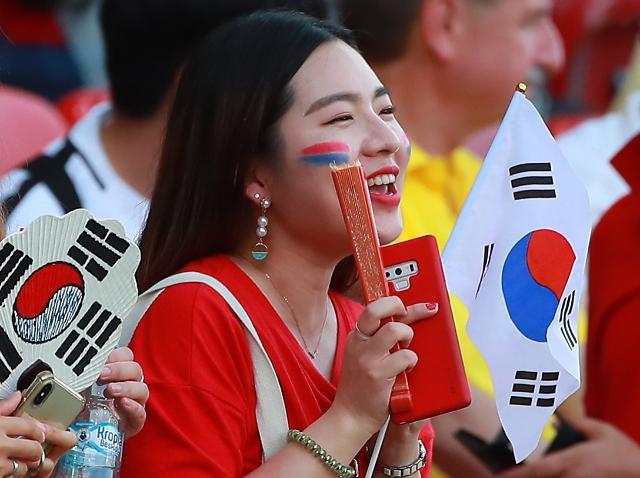 [슬라이드 화보] 대~한민국, 전국에 울려퍼진 붉은악마 함성