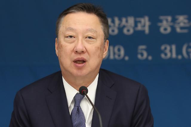 """9개월 만에 국회 찾는 박용만 상의 회장....""""계류 법안 조속 처리 요청"""""""