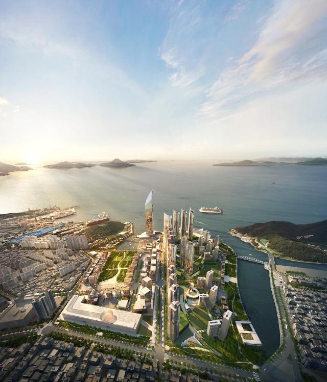 거제의 마린시티 빅아일랜드, 개발 가속화...2단계 준공 눈앞