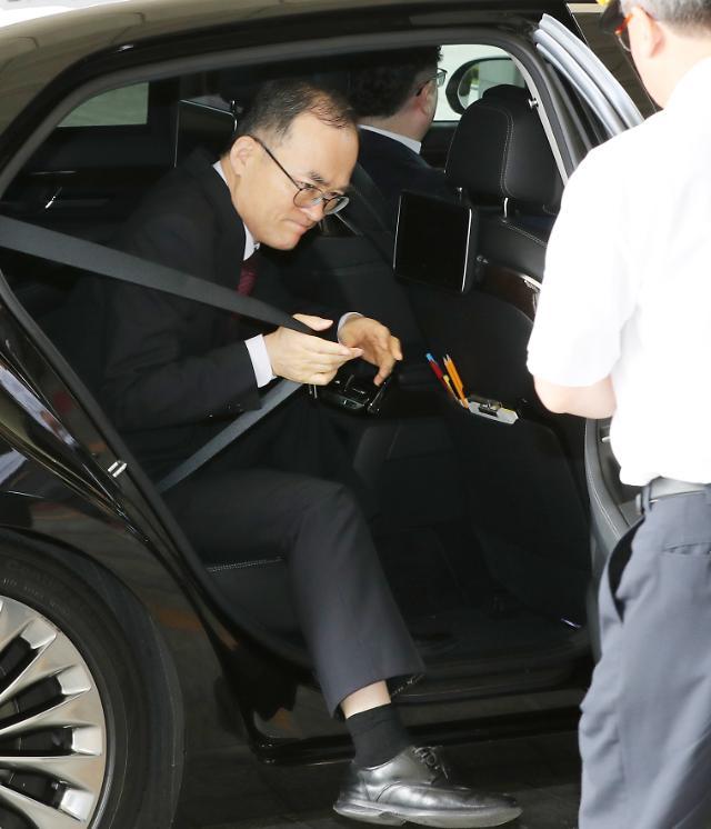 [포토] 퇴임 앞둔 문무일 검찰총장
