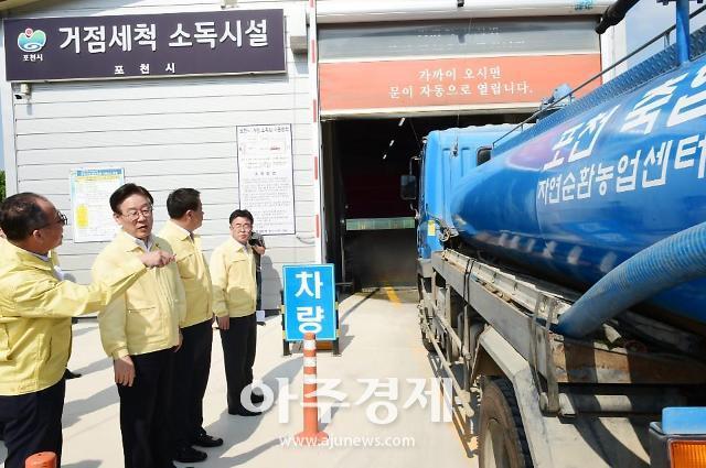 경기도, 돼지관련 차량 거점소독시설 경유 이행 아프리카돼지열병(ASF) 방역 목적