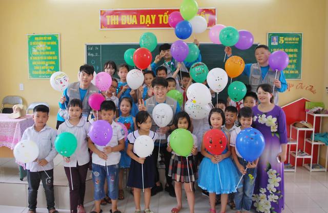 삼천리, 베트남 노후 학교 개·보수 및 교육봉사 실시