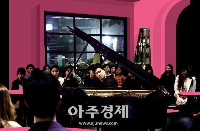 경주엑스포 기념관 개관 축하...세계적 피아니스트 정한빈 콘서트 열려