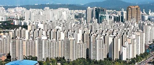 统计:5月首尔公寓均价一平米4.5万