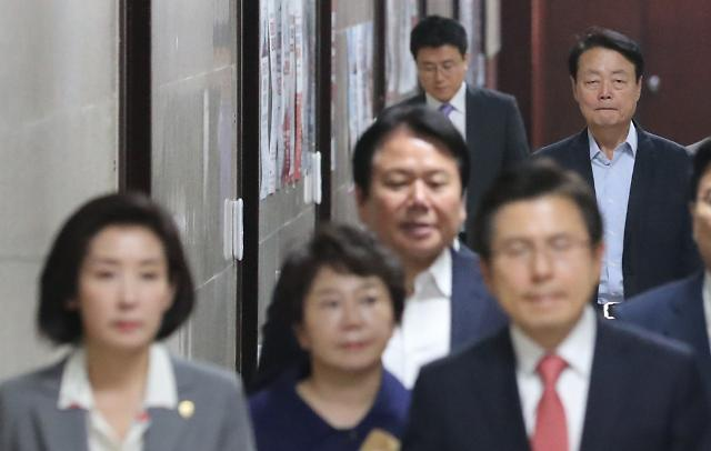 한국당 차기 사무총장에 김재원·이명수·이진복 등 거론