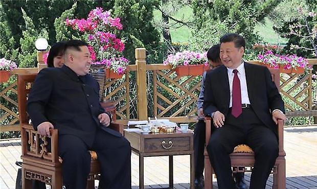 시진핑 전격 방북 한반도 문제 해결…트럼프 압박, 한·미 견제(종합2보)