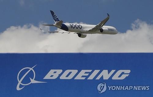 보잉, 파리에어쇼 첫날 항공기 수주 제로...에어버스는 123대
