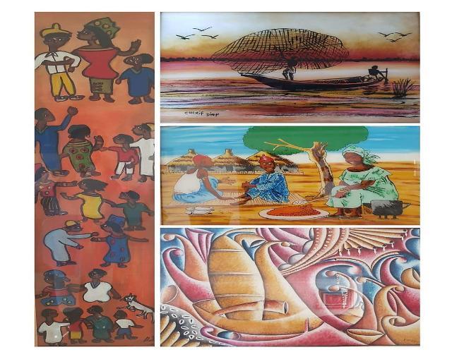 주한 세네갈 대사관- 인천시 국제협력과,  세네갈 문화 전시회 개최