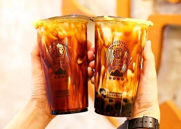黑糖奶茶登陆韩国 掀起饮品新流行旋风