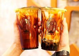 .黑糖奶茶登陆韩国 掀起饮品新流行旋风.