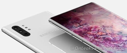 三星将在韩推新旗舰手机Note10两款机型