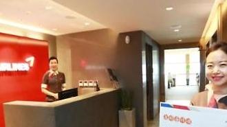 아시아나항공, 제주국제공항 카운터·라운지 새단장
