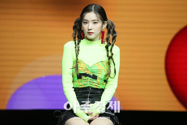 [슬라이드 화보] 아이린, 아이린도 소화하기 힘든 네갈래 머리 (레드벨벳 짐살라빔)