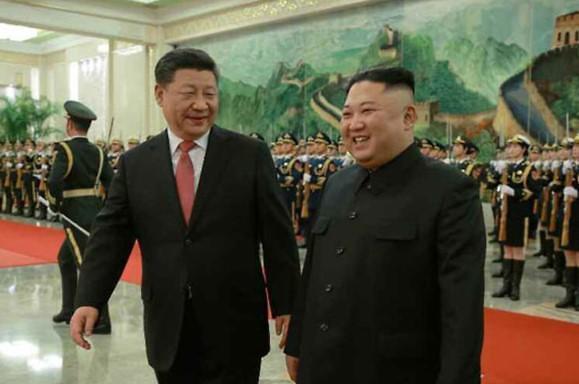 시진핑, 집권 후 첫 방북...中매체, 북중우호관계·역할론 재차 강조