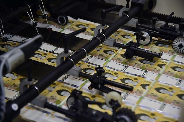 """日常货币5万韩元成 """"地下经济主犯"""""""