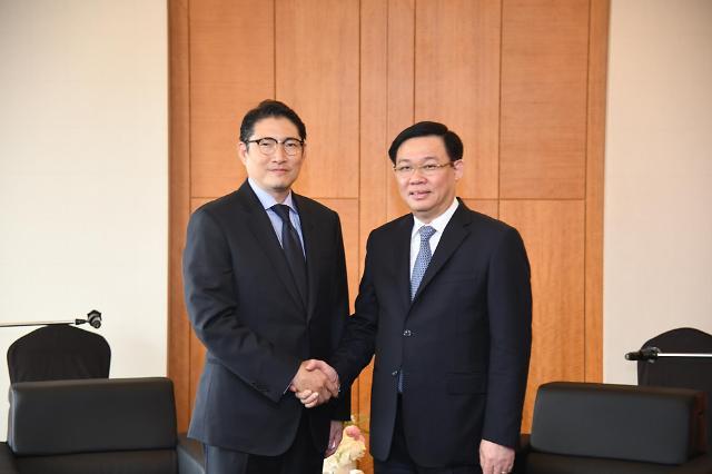 조현준 효성 회장, 베트남 부총리 만나 사업 협력 논의