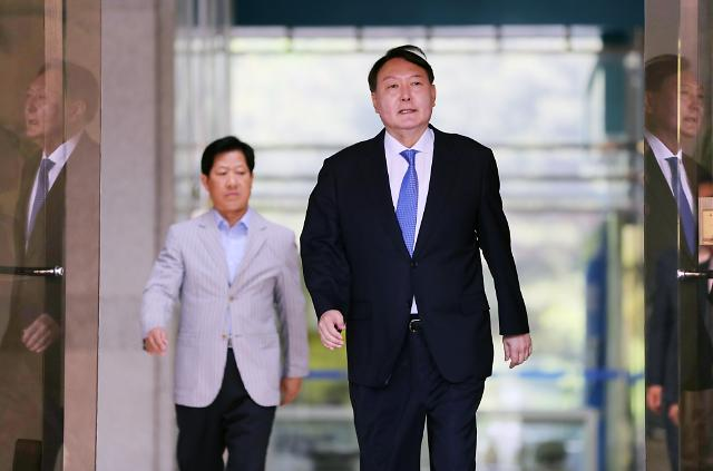 """""""사표내지 말아달라""""  조직 달래기 나선 윤석열"""