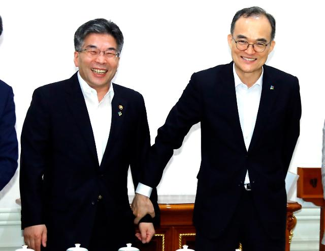 [포토] 반부패 정책협의회 참석한 검-경 수장