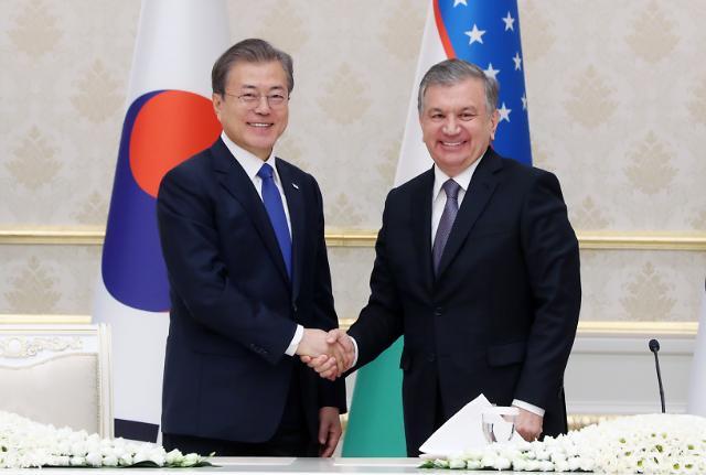 2023년 우즈벡 등 중앙아시아 3국 교역 100억 달러까지 끌어올린다