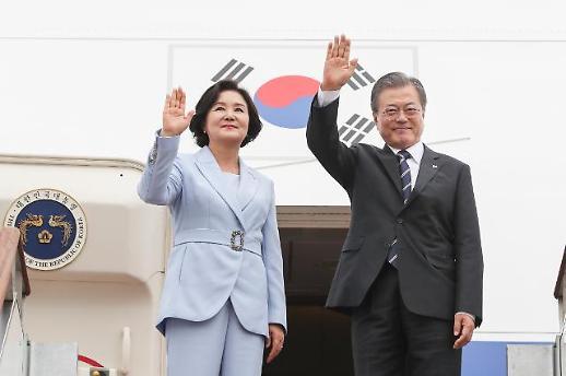 G20으로 향하는 文대통령…시진핑·푸틴 만난다