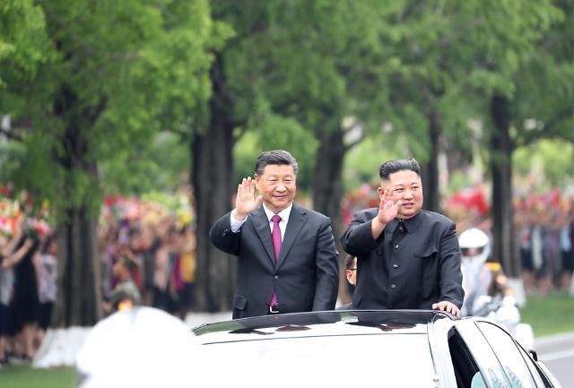 중국언론, 시진핑 방북 성과 연일 띄우기...북한카드 굳히나