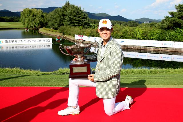 제인와타난넌드, 한국오픈 제패…파울러 이후 8년 만에 외국인 우승