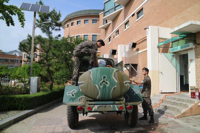 육군 17사단 포함 지역 군부대,  인천 지역 붉은 수돗물(적수) 사태에 급수 지원 나서