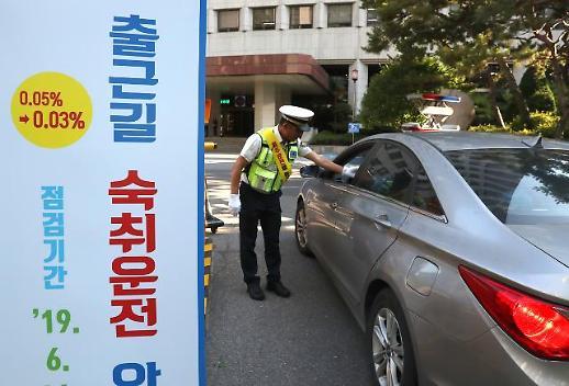 [포토] 출근길 숙취운전 단속