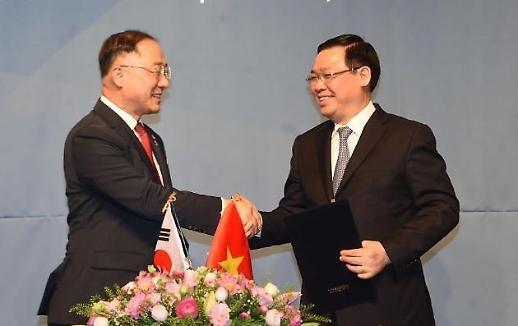 Hàn Quốc và Việt Nam đã nhất trí mở rộng hợp tác kinh tế trong năm lĩnh vực