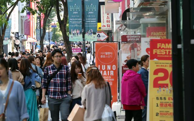5月访韩外国游客数达149万 同比增长20%