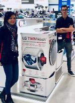 "LG電子、欧州で好評…英国""ドラム洗濯機最高""、フランス""AS 1位"""